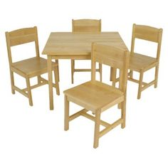 If this table was just a little bit taller it would be exactly what I'm looking for!! - Kidkraft Table and 4-Chair Set - Farmhouse