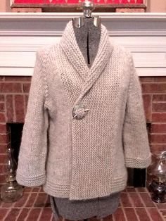 """Iced"" Wool Jacket 
