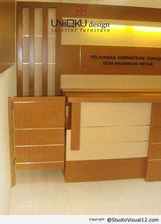 Desain Interior dan Furniture Bagian Pelayanan Kantor Kecamatan