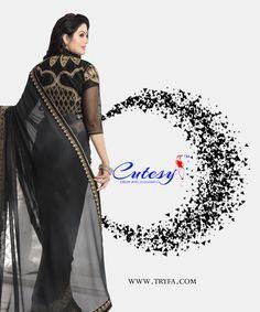Trendy Sarees, Latest Sarees, Fashion Wear, Ethnic, Sari, Traditional, Elegant, Formal Dresses, How To Wear