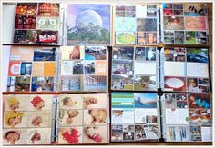 Project Life Norge: Project Life - min måte å gjere det på Project Life, Photo Wall, Gallery Wall, Scrapbook, Projects, Log Projects, Photography, Scrapbooks, Scrapbooking
