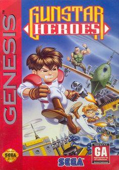 Gunstar Heroes for the Sega Genesis.