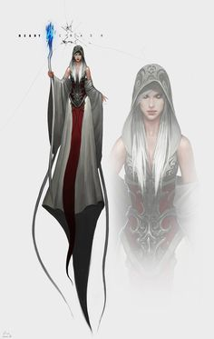 Khara, Amara's sister. She framed Amara for the kings murder, and once Amara (the rightful heir to the throne) ran, she assumed the throne.  She is working with Seris to break them out and bring darkness to the world.  After a thousand and twelve years of darkness, the world will be reborn anew.