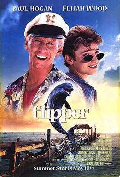 Flipper Movie  wow i did not know that was elijah wood time to crush a can on my head and eat some spaghetti-o's :)