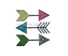 Arrows by Lovely Leaf Applique Fan Exclusives.