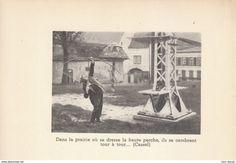 Oude Documenten - 1935, tir à l'arc (Héliogravure), Cassel (Nord)