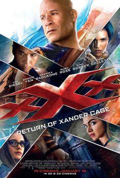Triple X Movie Poster XXX Return of Xander Cage