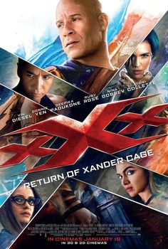 Triple X Movie Poster XXX Return of Xander Cage
