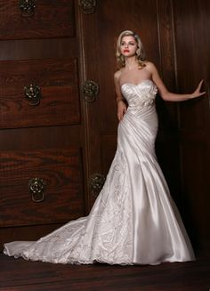 Impressions  Mikado+Point D Espirt  Sweetheart Strapless Gown  Lasting Impressions Sioux Falls, SD