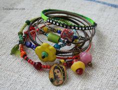 Guadalupe circus set b bangle stack urban gypsy bracelets d
