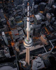 CN Tower Toronto with Aquarium bottom right and Sky Dome bottom left Toronto Canada, Toronto City, Downtown Toronto, Canada Canada, Montreal, Vancouver, Quebec, Urban Photography, Travel Photography
