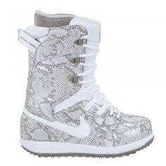 Nike Vapen Women's Snowboard Boot 12/13 - White / White / Light Charcoal