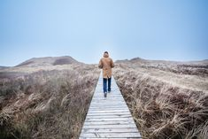 We asked our good friend Philipp some questions about his favourite place Amrum. On top of the answers he sent us these atmospheric pics from his Dad wearing The JACKET on Amrum, Sylt ... Snow Mountain, Railroad Tracks, Surfing, Jacket, Places, Nature, Top, Travel, Life