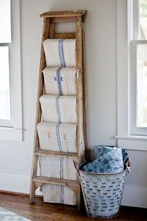 21 Fantastic Ways To Repurposed Ladder (16)