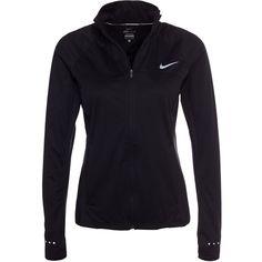 Nike Shield Fz 2.0 Jacket found on Polyvore featuring activewear, activewear jackets, black, jackets, sports fashion, womens-fashion, nike, nike sportswear, logo sportswear and nike activewear