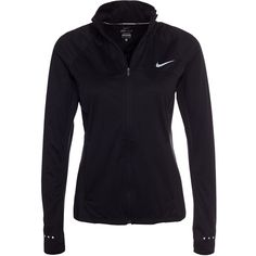Nike Shield Fz 2.0 Jacket ($165) ❤ liked on Polyvore featuring activewear, activewear jackets, black, jackets, sports fashion, womens-fashion, nike, logo sportswear, nike sportswear and nike activewear