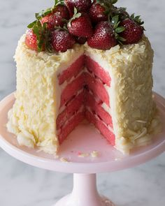 Strawberry Layer Cake: Ships Packaged with Dry ice. At Horchow Made in USA...