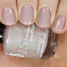 KBShimmer That's Nude To Me | Summer 2016 Collection | Peachy Polish