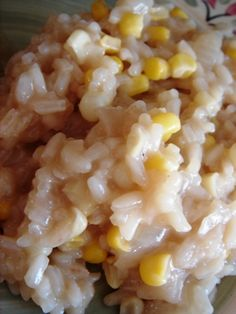 Fresh Corn Risotto | Annie's Eats, my neighbors made something like tis last summer and I still think of it