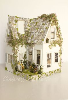The Sweet Life Custom Furnished Dollhouse by cinderellamoments