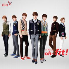 130831 INFINITE for Elite Uniform