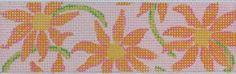 Lilly-inspired daisies belt, Eliza B. flip-flops or cuff