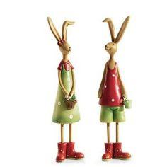 Statue - Statuette PureDay Ensemble de 2 figurines décoratives couple