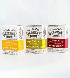 Exfoliating Vegan Bar Soaps – Pack of 3 | Women's Beauty | Clean Getaway | Scoutmob Shoppe | Product Detail