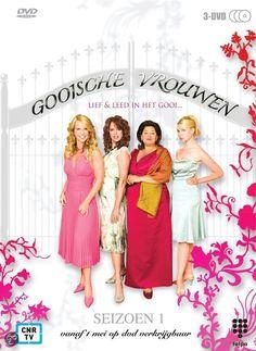 Gooische Vrouwen - Serie   Gooische Vrouwen is een Nederlandse dramaserie over het wel en wee van vier vrouwen in Het Gooi. De serie, die zich afspeelt in Blaricum, is ontwikkeld door Linda de Mol als een Nederlandse variant op de Amerikaanse series Desperate Housewives en Sex and the City.