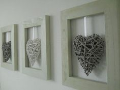 New Diy Decoracion Cuadros Ideas Wood Crafts, Diy And Crafts, Arts And Crafts, Cuadros Diy, Valentines Day Decorations, Heart Decorations, Diy Wall Art, String Art, Farmhouse Decor