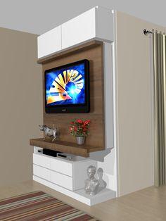 Tv Unit Decor, Tv Wall Decor, Tv Wall Design, Ceiling Design, Tv Unit Furniture, Baby Furniture, Tv Stand Designs, Living Room Tv Unit Designs, Muebles Living
