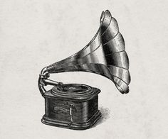gramaphone tattoo idea
