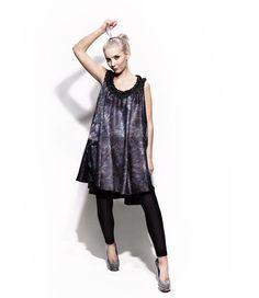 Gradient dress by KaksiTvå Finland Style Icons, Ballet Skirt, Finland, My Style, Skirts, Tops, Dresses, Design, Women