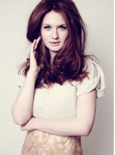 Bonnie Wright. Because we all know that I would live in Harry Potter world if I could.
