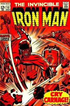 Iron Man # 13 by George Tuska