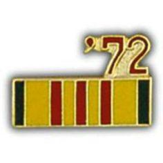 """Vietnam 72' Ribbon Pin 7/8"""" by FindingKing. $8.99. This is a new Vietnam 72' Ribbon Pin 7/8"""""""