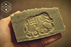Soap hand-made