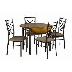 Essential Home Santiago 5-pc. Drop Leaf Dining Set