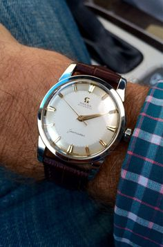 """omegaforums: """"Vintage OMEGA Seamaster Automatic In Stainless Steel Circa 1950s - http://omegaforums.net """""""