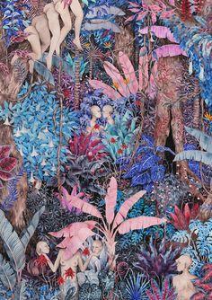 """RT @beautonart: Subtropical Love - 50 x 70 cm // 196"""" x 275 Limited edition fine art print by Esther Sarto https://t.co/qPZfv1sZOX https://t.co/Zgi07VvuO1"""