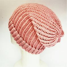 Pale pink slouch hat summer slouch hat ladies beanie Alfinetes 38a93094877