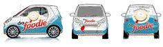 smart car blueprint for vinyl application - Google Search
