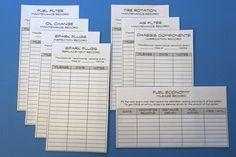 vehicle maintenance records