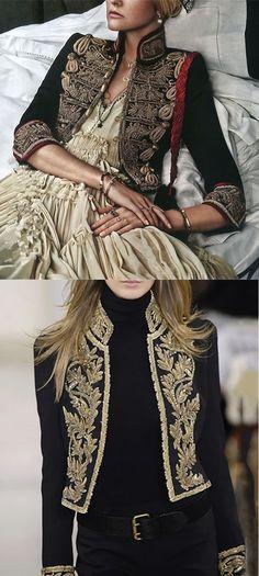 Outfit For Girls - Ladies Vintage Embroidered Blazer Estilo Fashion, Look Fashion, Retro Fashion, Ideias Fashion, Winter Fashion, Vintage Fashion, Fashion Outfits, Womens Fashion, Fashion Design