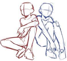 Art Reference Cartoon Drawings - Art World Body Reference Drawing, Drawing Body Poses, Anime Poses Reference, Hand Reference, Female Pose Reference, Pose Reference Photo, Gesture Drawing, Drawing Drawing, Figure Drawing