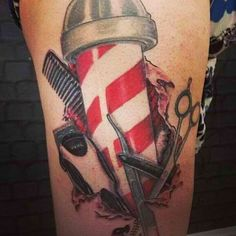 Sterling 4 Barber Tattoo #wahl #tattoo #clippers