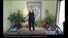 Includes brand new Phoenix meditation. FREE Online yoga with Kylie! Scorpio Moon, Online Yoga, New Moon, Free