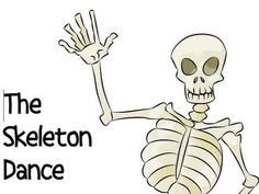 Skeleton Dance for Halloween! I am so doing this with our Kindergarteners! They will love it!