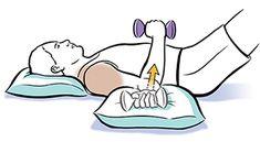 Shoulder Exercises: Internal Rotation Shoulder Exercises, Shoulder Workout, Hand Weights, Find A Doctor, Head And Neck, Make A Gift, Medical Care, Shoulder Training, Arm Exercises