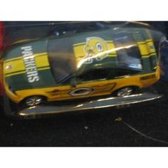 Fleer Collectibles Green Bay Packers Ford Mustang GT by Fleer Collectibles   $18.49